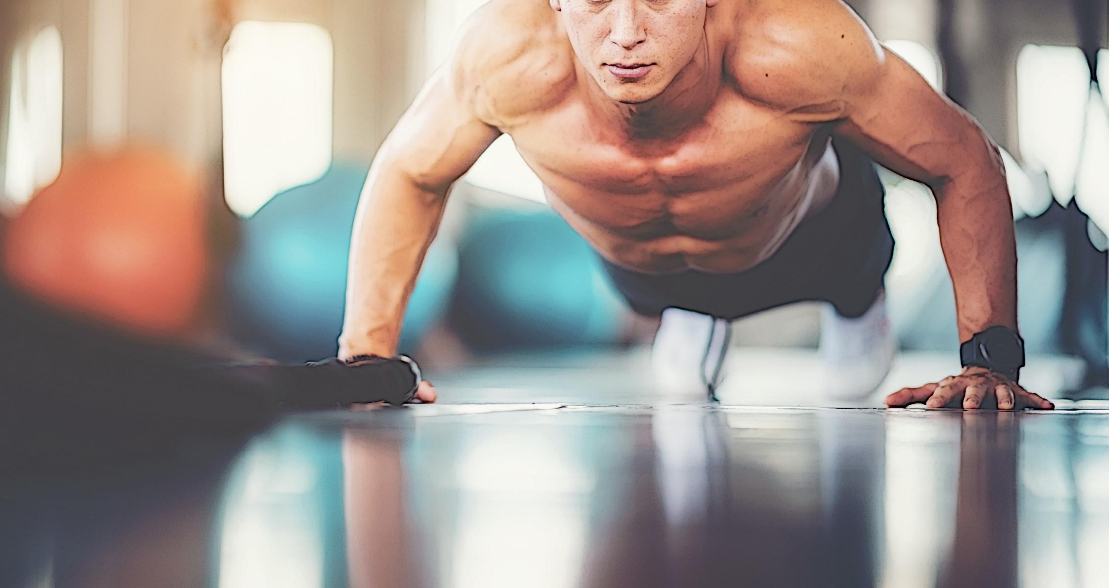 Bodyweight Chest Push Up