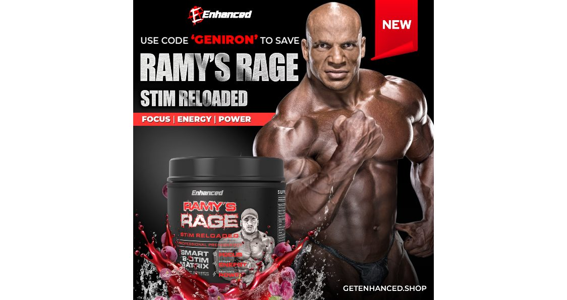 Enhanced Labs Ramy's Rage Stim Reloaded Pre-Workout