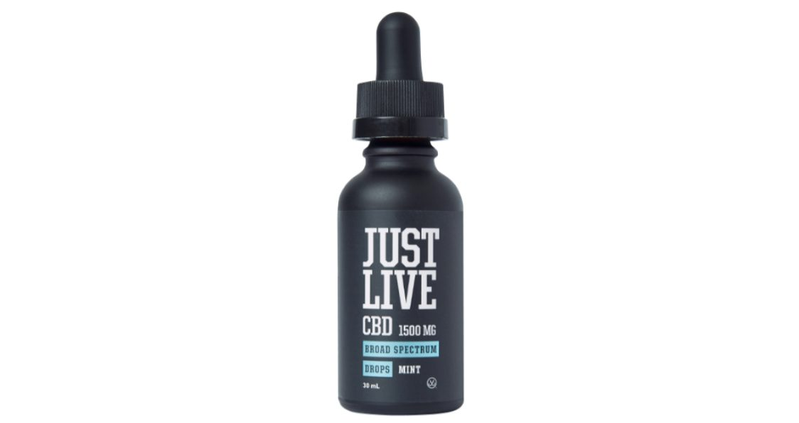 Just Live_Broad Spectrum CBD Mint Drops_Product