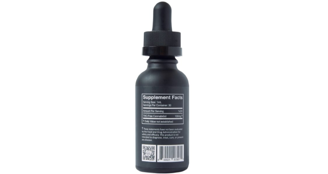Just Live_Broad Spectrum CBD Mint Drops_Ingredients