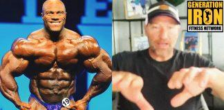 Gunter Schlierkamp Phil Heath Bodybuilding