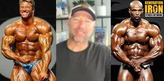 Gunter Schlierkamp Ronnie Coleman bodybuilding