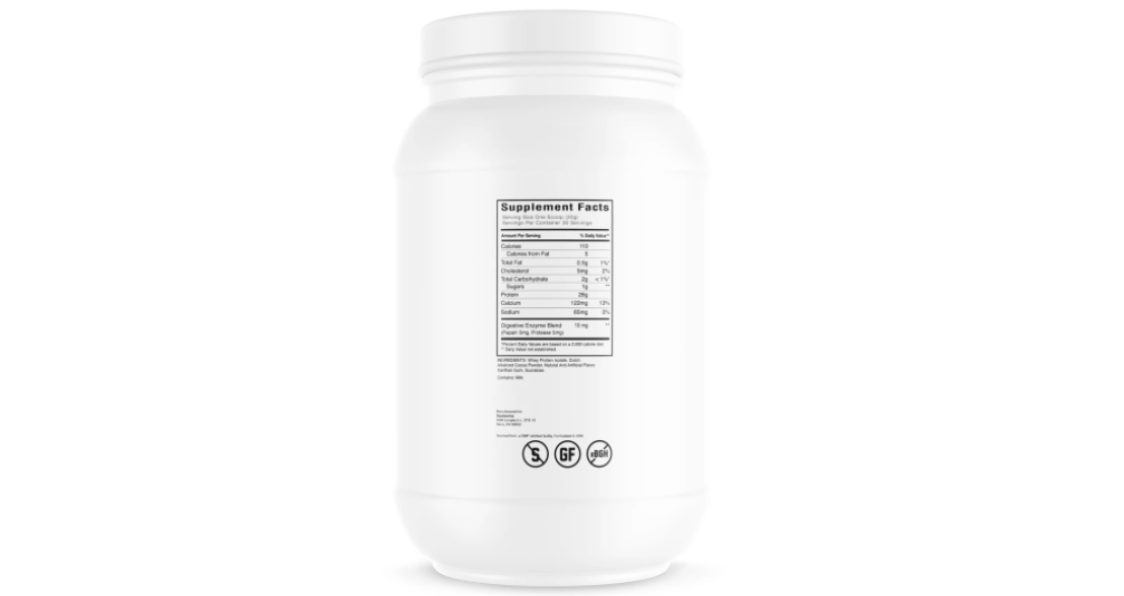 Swolverine_Whey Protein Isolate_Ingredients