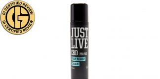 Just Live CBD Pain Relief Cream