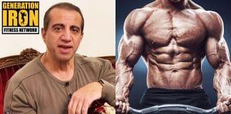 George Farah bodybuilding bulking and cutting