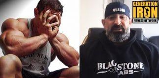 Guy Cisternino bodybuilding anxiety