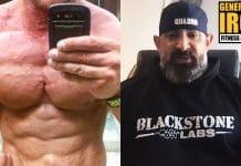 Guy Cisternino bodybuilding social media