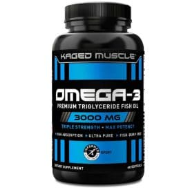 Kaged Muscle Omega-3 Fish Oil