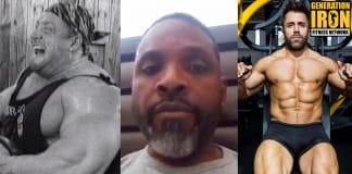Melvin Anthony bodybuilding training