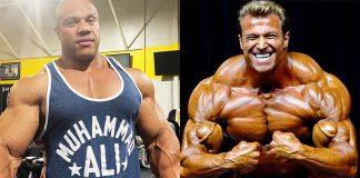 Phil Heath Gunter Schlierkamp Bodybuilding
