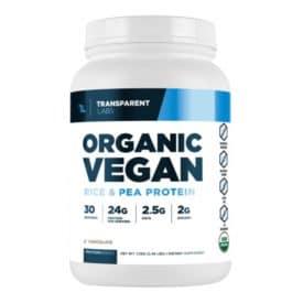 Transparent Labs ProteinSeries Organic Vegan