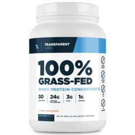 Transparent Labs ProteinSeries 100% Grass-Fed Whey Protein Concentrate