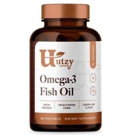 Utzy Naturals Omega-3 Fish Oil