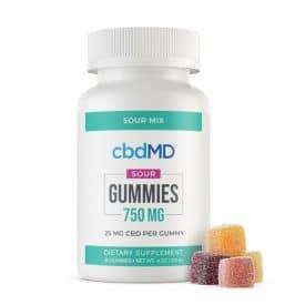 cbdMD 750mg Gummies