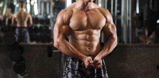 Bodybuilder chest
