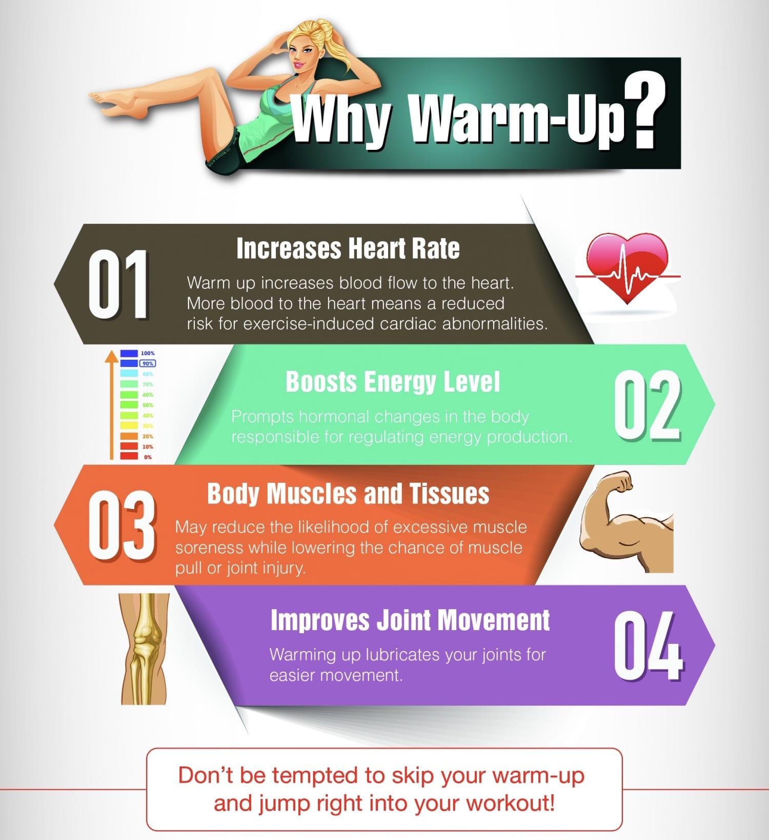 Never skip warm up