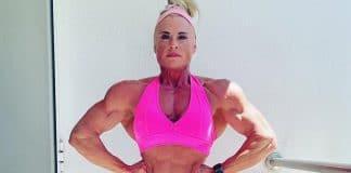 Alena Kosinova bodybuilder