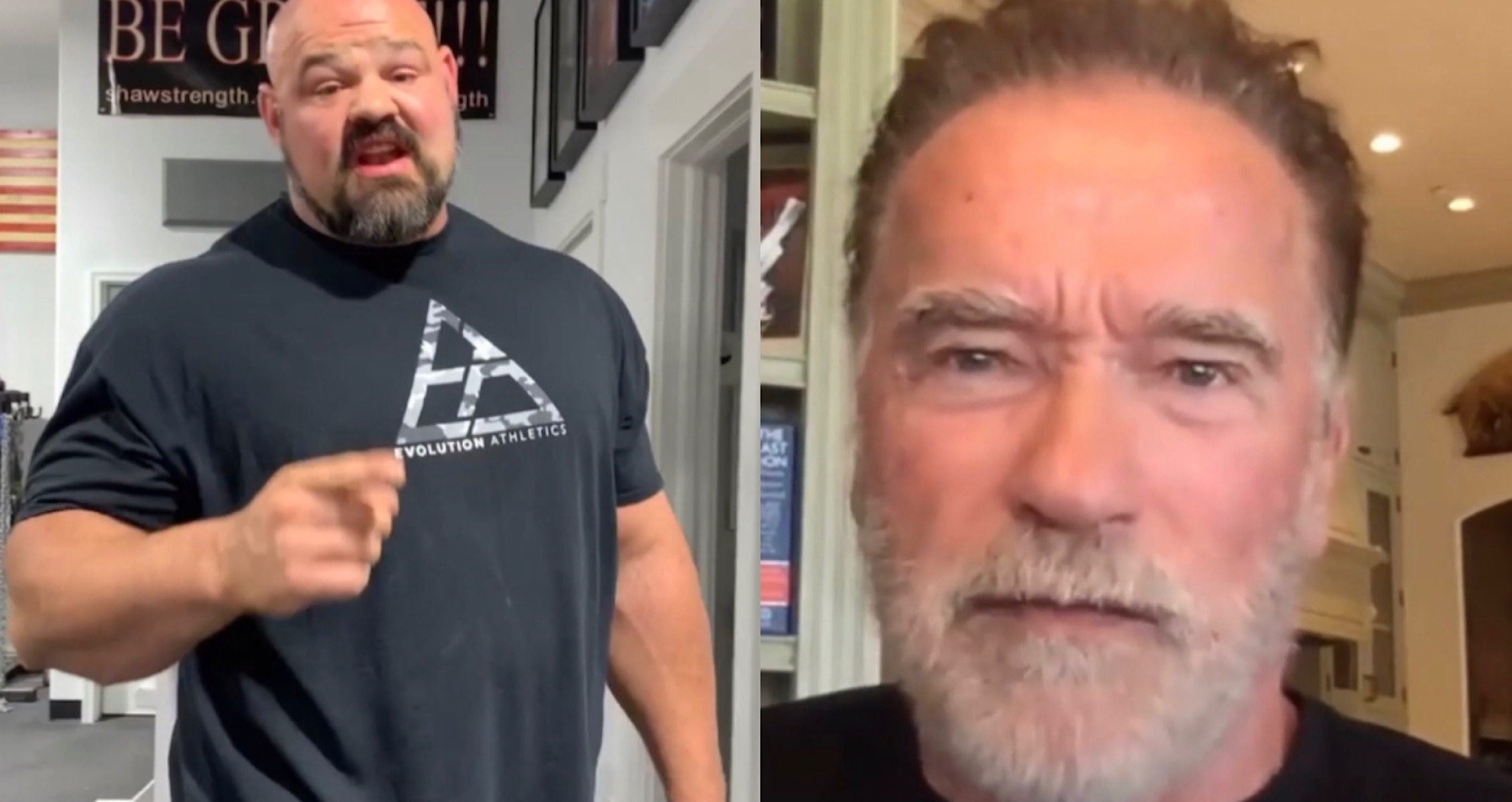 Brian Shaw Arnold Schwarzenegger