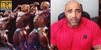 Dennis James bodybuilding