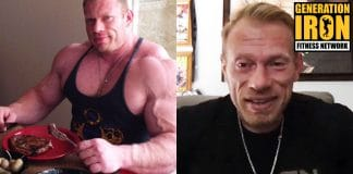 Dennis Wolf bodybuilding eating