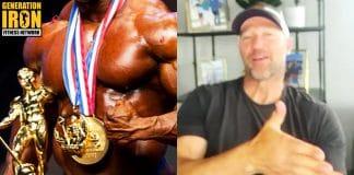 Gunter Schlierkamp Mr. Olympia bodybuilding