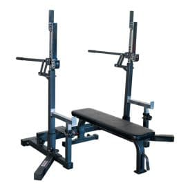 Titan Fitness Competition Bench And Squat Rack Combo