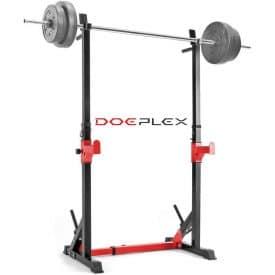 Doeplex Multi-Function Adjustable Squat Rack