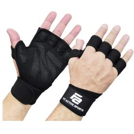 Fit Active Weightlifting Workout Gloves