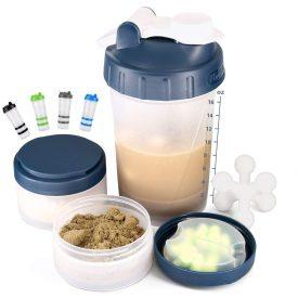 Hydro2Go Protein Shaker Bottle