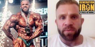 Iain Valliere bodybuilder