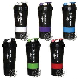 KITCHENIE Shaker Bottle Packs