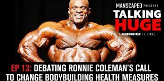 Talking Huge Ronnie Coleman boybuilding