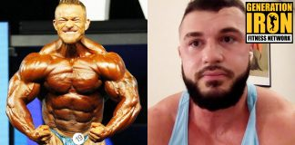 Ryan Crowley Flex Lewis Men's Open bodybuilding