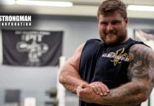 Strongman Marcus Crowder