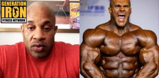 Victor Martinez Nick Walker bodybuilding