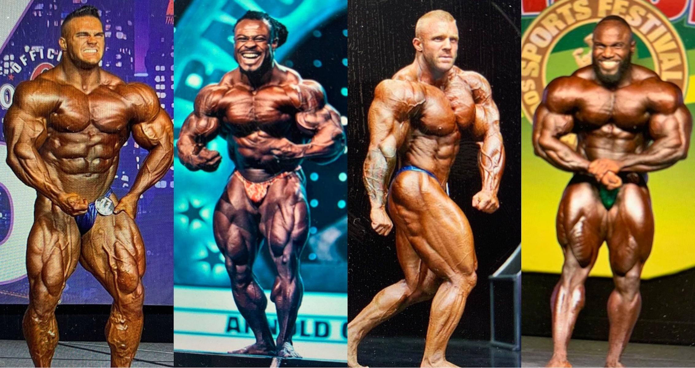 Arnold Classic 2021 bodybuilders