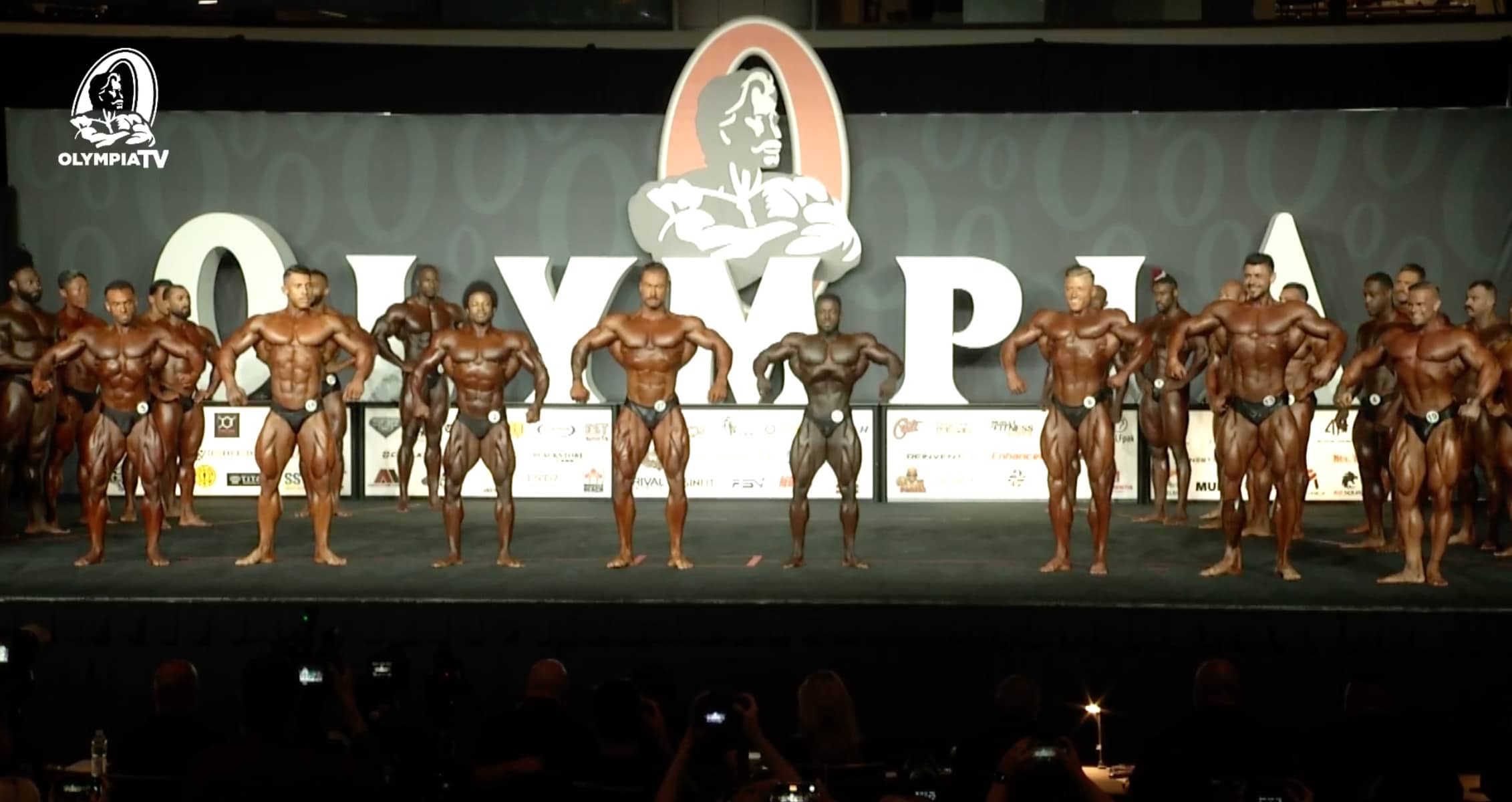 Olympia 2021 Classic Physique First Callout