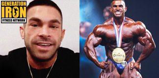 Derek Lunsford Olympia 2021 bodybuilder