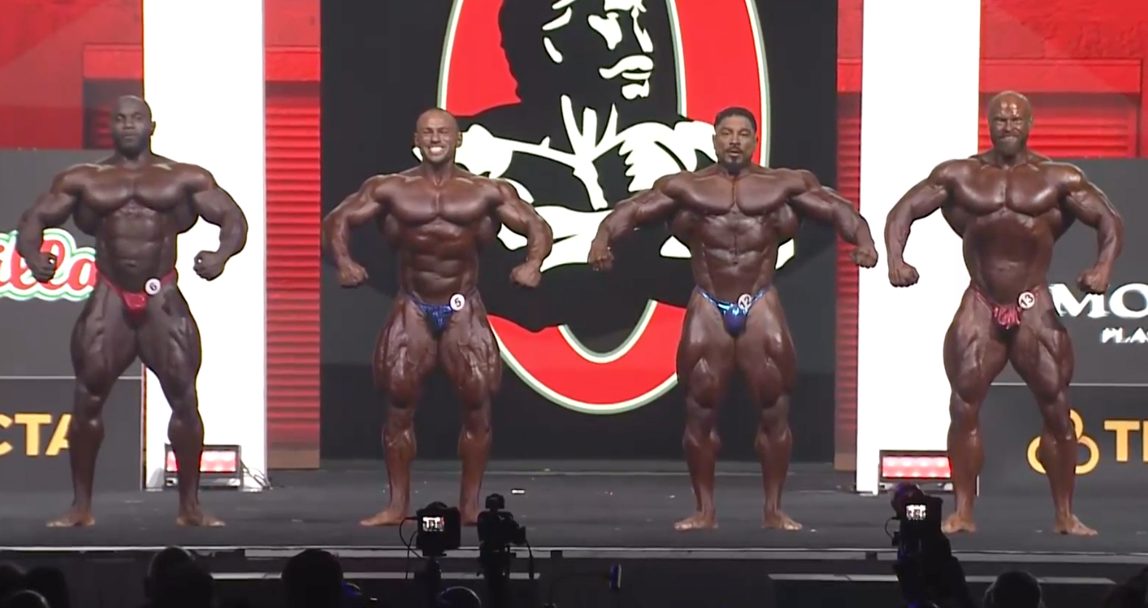 Mr. Olympia Fourth Callout