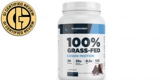Transparent Labs ProteinSeries 100% Grass-Fed Casein