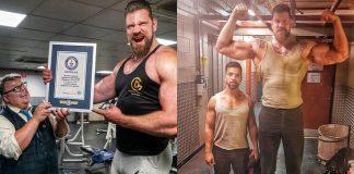 Olivier Richters Worlds Tallest Bodybuilder